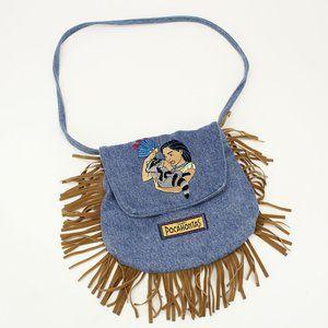 Vintage Pocahontas Jean & Fringe Purse